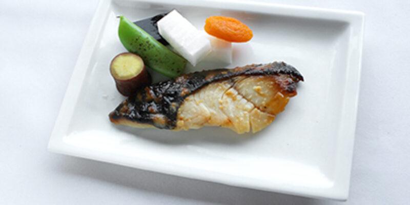 銀鱈の西京焼