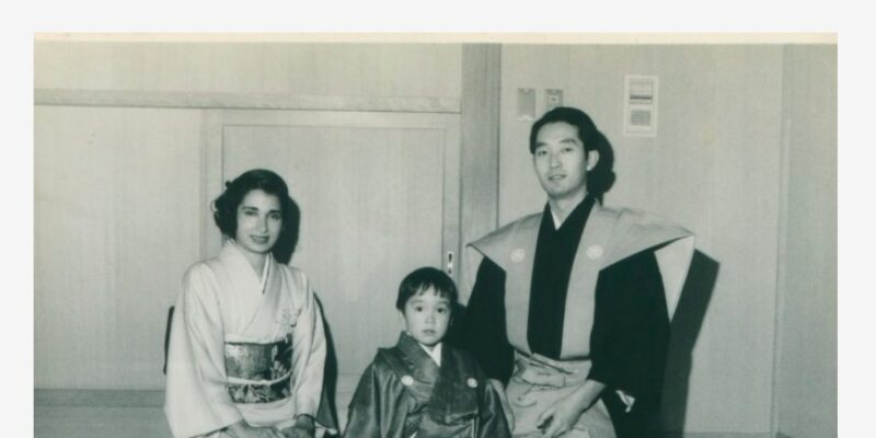 Daughter-Sorayas-premiere-at-the-National-Noh-Theater-in-1986