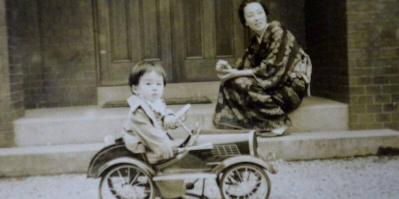 8_祖母岩崎操子と_1953年頃