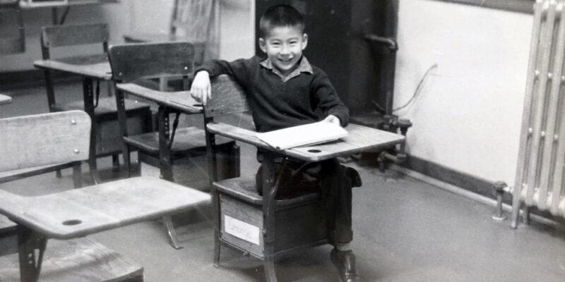 15_アメリカの少年時代_At Wilson School_1958