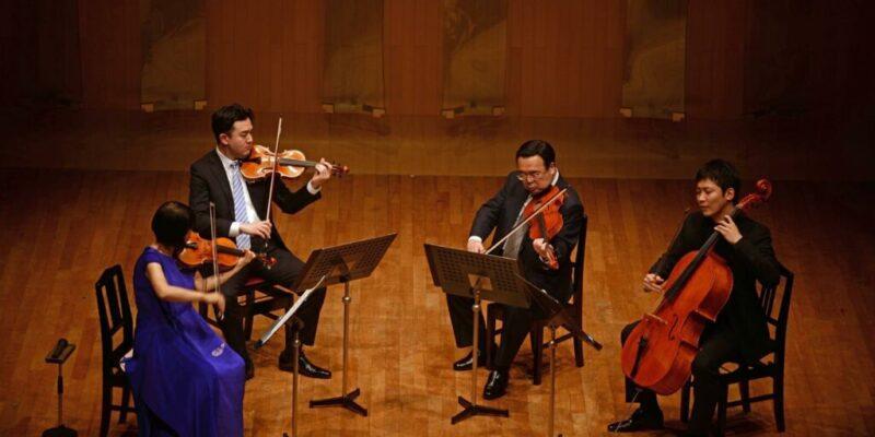 TSUANMIヴァイオリン、ヴィオラ、チェロによるカルテット